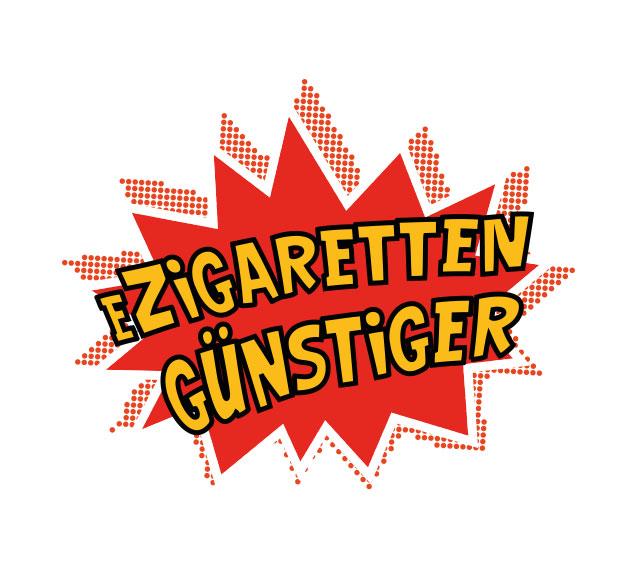 Teaser mit Logo vom Onlineshop eZigaretten Günstiger